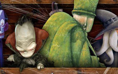 El baúl de los Monstruos: Bromera e Itbook en una divertida edición de terror para niños
