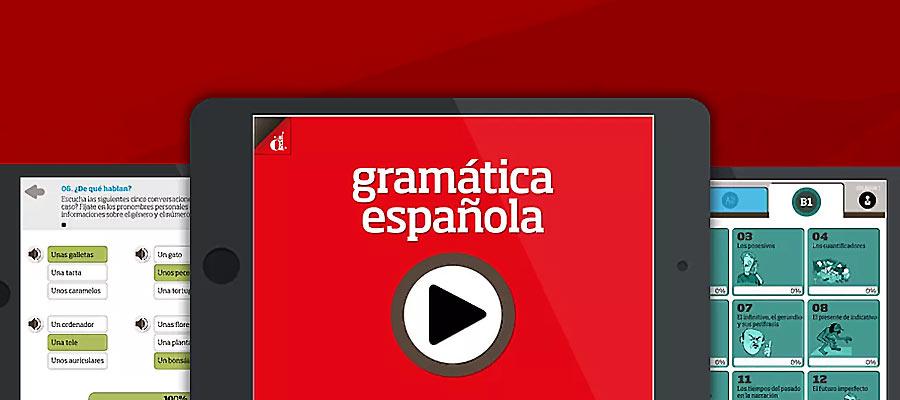 Gramática Española: El app de enseñanza de español como lengua extranjera para jóvenes-adultos