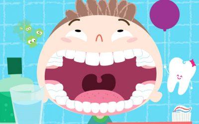 Sanitas Dental Infantil: educación para la limpieza bucal