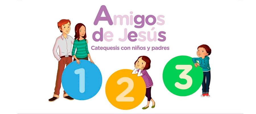 """""""Amigos de Jesús"""",  la app de catequesis católica de editorial Casals"""